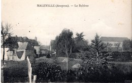 Cpa 12_MALEVILLE - Le Baldrac, Vue Générale - Le Village - Autres Communes