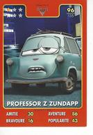 Carte Disney Pixar Auchan 2015  N° 98 CARS 2  ACER - Disney