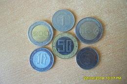 Lot De 7 Monnaies D'Algérie/5 Ctmes-1-5-10-50-100-et 200 Dinars Commémorative(50eme Anniversaire De L'indépendance)TTB+ - Algeria