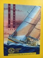 8676 - Whitebread Round The World Race 1989-1990 Dôle & Fendant Suisse 2 étiquettes - Bateaux à Voile & Voiliers