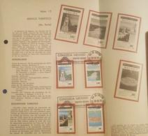 L) 1979 MEXICO, CHIAPAS, COLIMA, TOURISM, REY COLIMAN, STATUE, RIVER BLUE WATER, NATURE, TEPOZTLAN, CHURCH, FDB - Mexico
