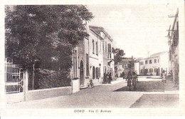 ITALIA - GORO (ferrara) - Via C. Battisti, Animata, Viag. 1957 For. Piccolo - 2018-08,09 - Ferrara