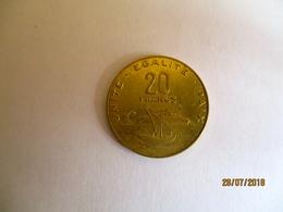 Djibouti 20 Francs Djibouti 2010 - Djibouti