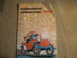 Catalogue CASTERMAN   1965 De La Boutique DECALLONNE TOURNAI - Livres, BD, Revues