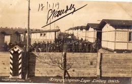 KRIEGSGEFANGENENLAGER-LAGER  LIMBURG 1914-1915 (CARTE PHOTO) - Limburg