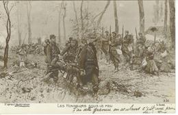 Cpa Patriotique - Les Honneurs Sous Le Feu Scott , Ww1 , écrite 1915 * Mon Petit Louis Mignon - Patriotiques