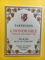8680 - Salvagnin & Tartegnin Pour L' Honorable Abbaye Villars Ste-Croix Vin De Fête 1983 Suisse 2 étiquettes - Etiquettes