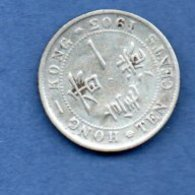 Hong Kong -  10 Cents 1903  --  état TB - Hong Kong