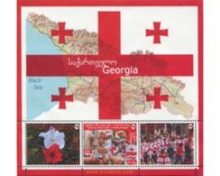 Ref. 317210 * MNH * - GEORGIA. 2009. FLAG . BANDERA - Georgia