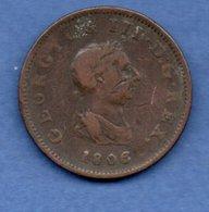 Grande Bretagne -  1/2 Penny 1806  --  état TB - 1662-1816 : Antiche Coniature Fine XVII° - Inizio XIX° S.
