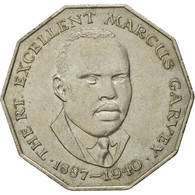Monnaie, Jamaica, Elizabeth II, 50 Cents, 1989, TTB, Copper-nickel, KM:65 - Jamaica