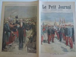 Le Petit Journal 7 Avril 1895 229 Camp De Sathonay Drapeaux Lyon Rhône 69 - 1850 - 1899
