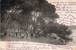86Vn  06 Ile St Honorat Jeu De Boules Petanque - Pétanque