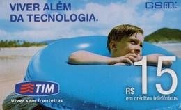 TARJETA TELEFONICA DE BRASIL (PREPAGO - TIM). (035) - Brazilië