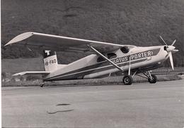 Aviation - Avion Pilatus Porter HB-FAO - Aviation