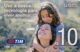 TARJETA TELEFONICA DE BRASIL (PREPAGO - TIM). (037) - Brazilië