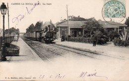 86Vn  06 Cannes La Bocca La Gare Train Micheline - Cannes