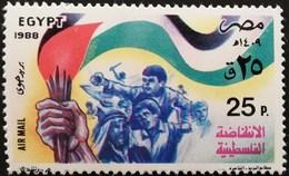 Egypt 1988 Palestinian Uprisind - Egypt