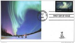 Polar Lights First Day Cover (Northern Lights (Aurora Borealis), From Toad Hall Covers (#2) - 2001-2010