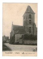 77 Villecerf Eglise Cpa Edit Bellanger - Autres Communes