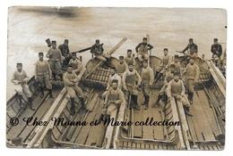 GRENOBLE 1913 ISERE - EMBARCATIONS - DE LOUIS LAMY POUR ALBERTVILLE - CARTE PHOTO MILITAIRE - Regimente