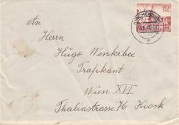 DEUTSCHES REICH 1940 -12 Pfg Auf Brief, Stempel Kirchenbirk - Covers & Documents