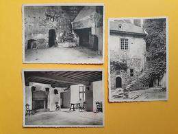 Clervaux - Le Château Féodal - Lot De 3 Vues - Non Circulé - Clervaux