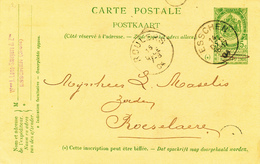 ZZ974 -Archive Louis MASELIS Roulers -  Entier Postal Armoiries ESSCHEN 1904 - NIPA 250 X 3 - Postkaarten [1871-09]