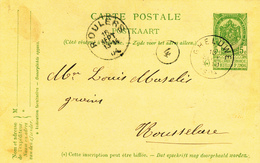 ZZ976 - Archive Louis MASELIS Roulers -  Entier Postal Armoiries GHELUWE 1904 - NIPA 250 X 3 - Postkaarten [1871-09]