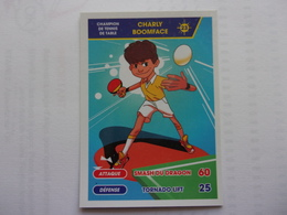 PITCH Champion  Tennis De Table Ping Pong CHARLY BOOMFACE - Otras Colecciones