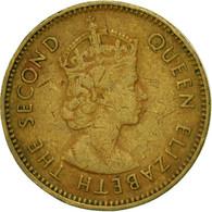 Monnaie, Hong Kong, Elizabeth II, 10 Cents, 1965, TTB, Nickel-brass, KM:28.1 - Hong Kong