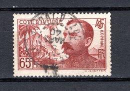 COTE D'IVOIRE  N° 139  OBLITERE  COTE 0.70€  BINGER - Oblitérés