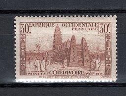 COTE D'IVOIRE N° 171  NEUF SANS CHARNIERE COTE  2.25€  MOSQUEE - Côte-d'Ivoire (1892-1944)