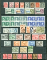 Turks & Caicos LOT Of 53 Incl. 4 SETS MNH/MH/USED Cat $75 WYSIWYG A04s - Turks And Caicos