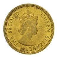 Monnaie, Hong Kong, Elizabeth II, 5 Cents, 1977, TTB, Nickel-brass, KM:29.3 - Hong Kong