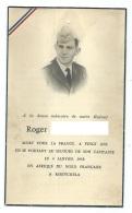 FAIRE PART AVIS DE DECES SOLDAT MORT POUR LA FRANCE A KHENCHELA EN AFRIQUE DU NORD FRANCAISE LE 4 JANVIER 1958 - Documents