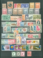 Barbados LOT Of 67 Includes. 7 SETS. Royals Views Britannia UPU SoS Dues Mostly Mint Some NH Cat $90 WYSIWYG A067 - Barbados (1966-...)