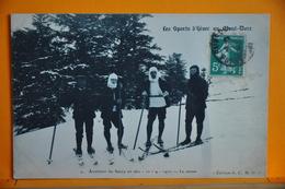 Le Mont Dore - Ascension Du Sancy En Skis - 10/04/1910 - Le Retour - Le Mont Dore
