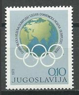 Yougoslavie YT N°1402 Semaine Olympique Neuf/charnière * - Neufs