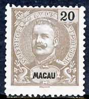 !■■■■■ds■■ Macao 1900 AF#98(*) King Carlos, Mouchon 20 Avos (x12157) - Macao