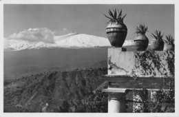 TAORMINA SICILY ITALY~ L'ETNA LICARI PHOTO POSTCARD 33106 - Italien