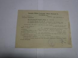 CALAMBRONE  --  PISA  --   OSPEDALE MILITARE TERRITORIALE  VITTORIO EMANUELE III - Italia
