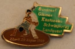 LUTTE SUISSE - BUNDNER GLANER KANTONALER SCHWINGERTAG LANDQUART - 1993 - LUTTEURS-     (20) - Wrestling
