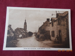 CPSM - St-M'Hervé - Route De La Croixille - Other Municipalities