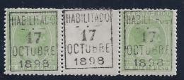 ESPAÑA/PUERTO RICO 1898 - Edifil #176 - Puerto Rico