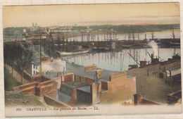 8AK1981 GRANVILLE VUE GENERALE DES BASSINS  2 SCANS - Granville