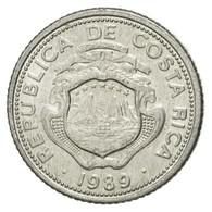 Monnaie, Costa Rica, 25 Centimos, 1989, TTB+, Aluminium, KM:188.3 - Costa Rica