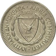 Monnaie, Chypre, 50 Mils, 1974, TTB, Copper-nickel, KM:41 - Chypre