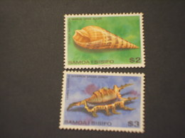 SAMOA - 1979 CONCHIGLIE 2 VALORI -. NUOVO(++) - Samoa