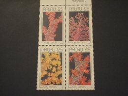 PALAU - 1989 CORALLI 4 VALORI -. NUOVO(++) - Palau
